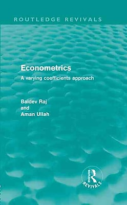 Econometrics A Varying Coefficients Approach