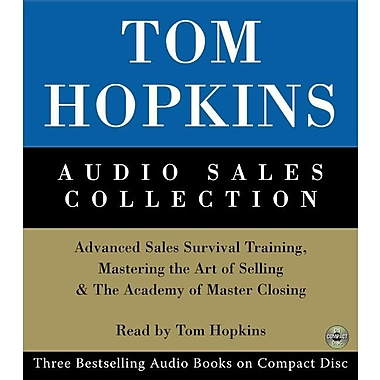 Tom Hopkins Audio Sales Collection: Advanced Sales Survival Training, Mastering the Art of Selling