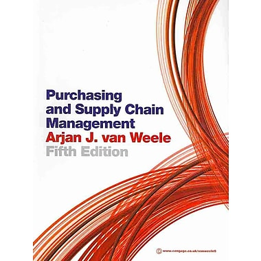 Purchasing and Supply Chain Management.