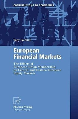 European Financial Markets (Hardcover)