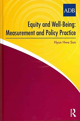 Equity and Well-Being: Measurement and Policy Practice