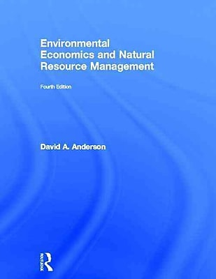 Environmental Economics and Natural Resource Management (HC)