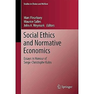 Social Ethics and Normative Economics