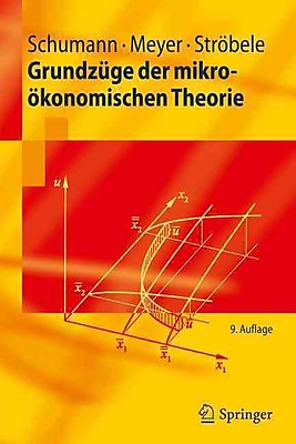Broad microeconomic theory (Springer-Lehrbuch)