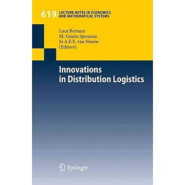 Innovations in Distribution Logistics (Lecture Notes in Economics and Mathematical Systems)