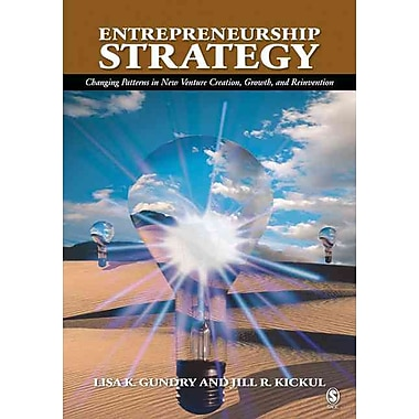 Entrepreneurship Strategy - Changing Patterns in New Venture Creation