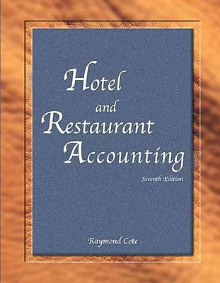 Hotel and Restaurant Accounting with Answer Sheet (EI) (7th Edition)