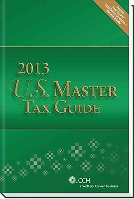 US Master Tax Guide 2013