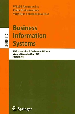 Business Information Systems (Paperback)
