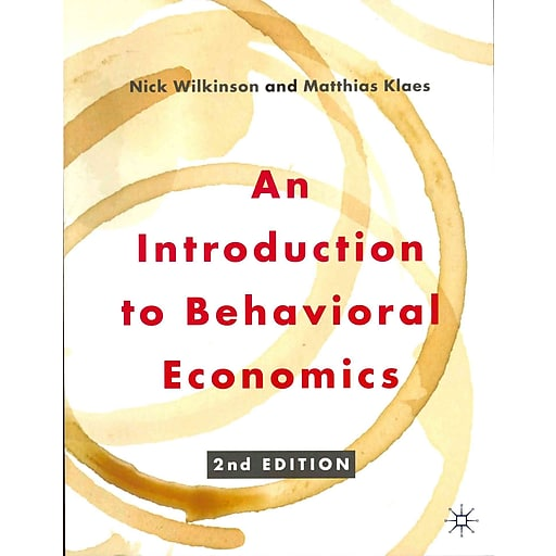 overview of behavioral economics How behavioral economics differs from traditional economics all of economics is meant to be about people's behavior so, what is behavioral economics, and how does it differ from the rest of economics economics traditionally conceptualizes a world populated by calculating, unemotional.