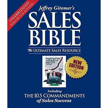 The Sales Bible: The Ultimate Sales Resource (Audio CD)