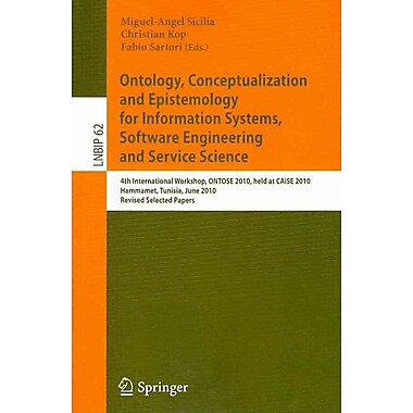 Ontology, Conceptualization and Epistemology for Information Systems