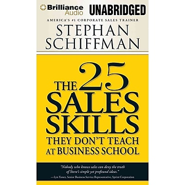The 25 Sales Skills: They Don't Teach at Business School (AC)