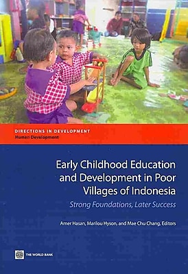 Early Childhood Education and Development in Poor Villages of Indonesia
