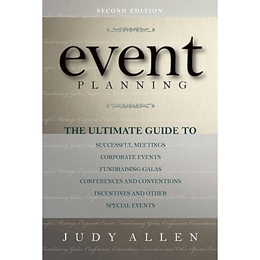 Event Planning, Used Book