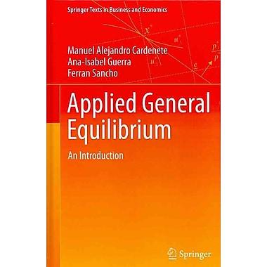Applied General Equilibrium