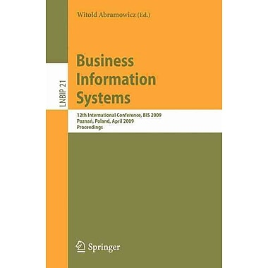 Business Information Systems: 12th International Conference