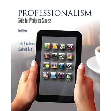 Professionalism: Skills for Workplace Success (3rd Edition), New Book
