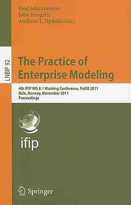 The Practice of Enterprise Modeling (Paperback)
