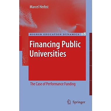 Springer Financing Public Universities, Volume 18 Book