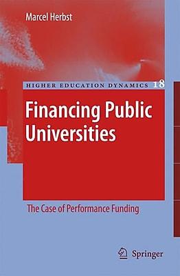 Springer Financing Public Universities, Volume 18 Book