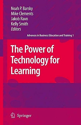 Springer 1st Vol. The Power of Technology for Learning Book