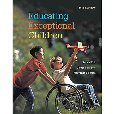Cengage Learning® Educating Exceptional Children Book