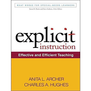 Guilford Press Explicit Instruction: Effective and Efficient Teaching Book
