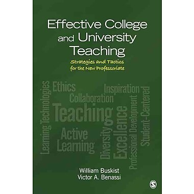 Sage Publications Effective College and University Teaching Book