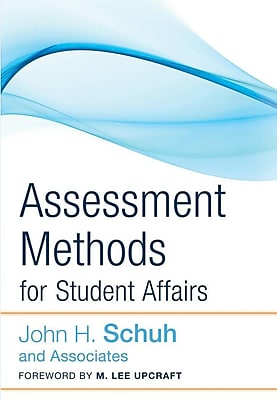 John Wiley & Sons Assessment Methods for Student Affairs Book