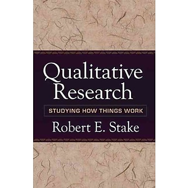 Guilford Press Qualitative Research: Studying How Things Work Paperback Book