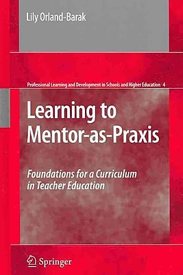 Springer Learning to Mentor-as-Praxis Book