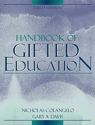 Pearson Handbook of Gifted Education Book