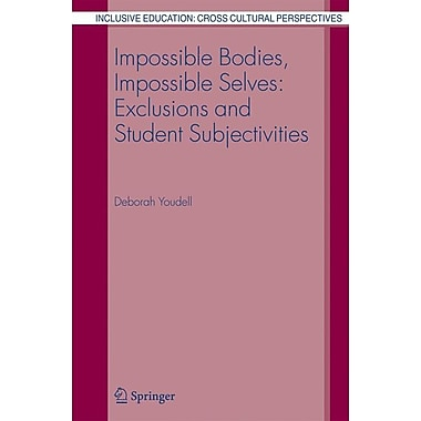 Springer Impossible Bodies, Impossible Selves, Volume 3 Book