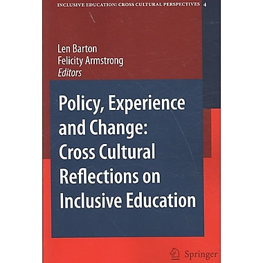 Springer Policy, Experience and Change, Volume 4 Book