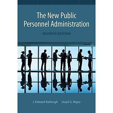 Cengage Learning® The New Public Personnel Administration Book