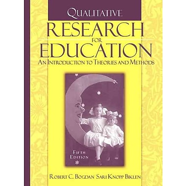 Prentice Hall Qualitative Research for Education Book