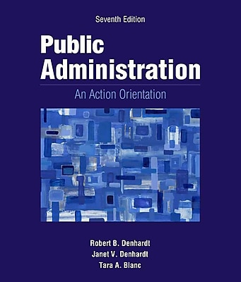 Cengage Learning® Public Administration Book