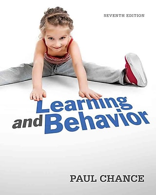 Cengage Learning® Learning and Behavior Paperback Book