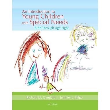 Cengage Learning® An Introduction to Young Children with Special Needs Book