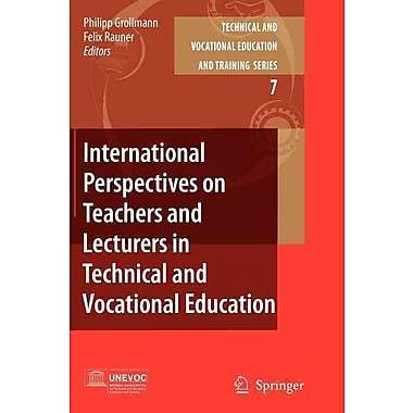 Springer International Perspectives on Teachers and Lecturers in Technical..., Volume 7 Book