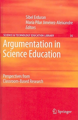Springer Argumentation in Science Education, Volume35 Book
