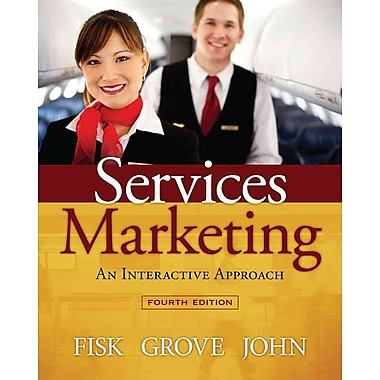 Cengage Learning® Services Marketing Interactive Approach Book
