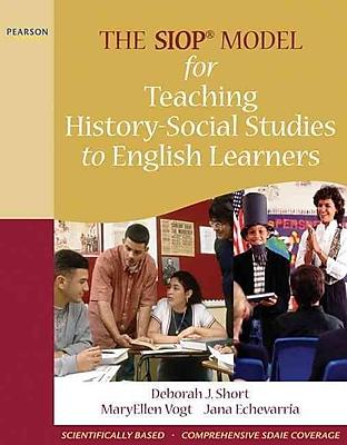Prentice Hall The SIOP Model for Teaching History-Social Studies to English Learners Book