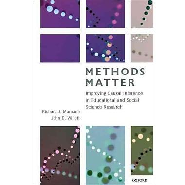 Oxford University Press Methods Matter Research Book