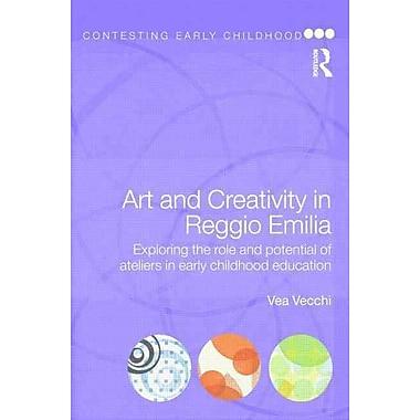 Taylor & Francis Art and Creativity in Reggio Emilia Book, New Book
