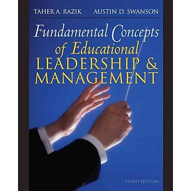 Pearson Fundamental Concepts of Educational Leadership and Management Book