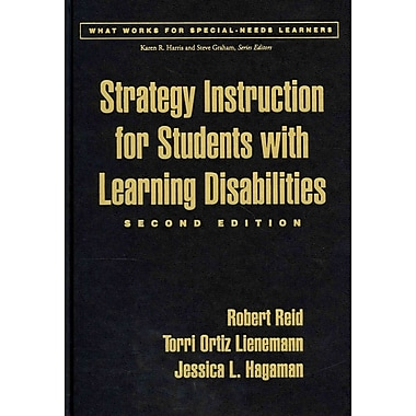 Guilford Press Strategy Instruction for Students With Learning Disabilities Hardback Book