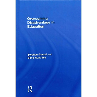 Taylor & Francis Overcoming Disadvantage in Education Hardback Book