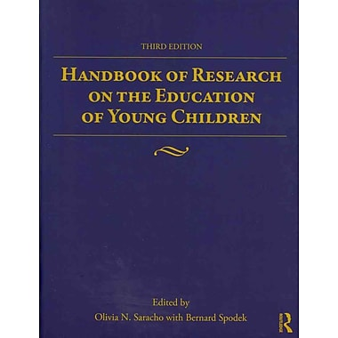 Taylor & Francis Handbook of Research on the Education of Young Children Book